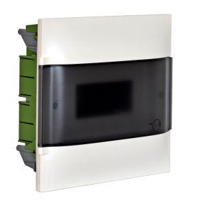 Practibox S Χωνευτός Πίνακας Για Γυψοσανίδα 1Χ12 Διάφανη Πόρτα