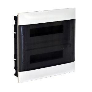 Practibox S Χωνευτός Πίνακας Για Γυψοσανίδα 2Χ12 Διάφανη Πόρτα