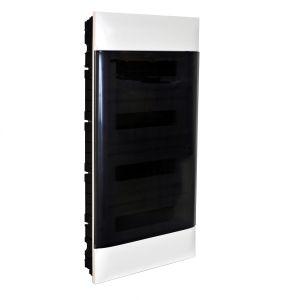 Practibox S Χωνευτός Πίνακας Για Γυψοσανίδα 4Χ18 Διάφανη Πόρτα