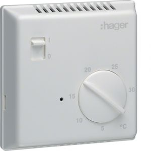 Θερμοστάτης Ηλεκτρονικός Με Διακόπτη & Ενδεικτική Λυχνία
