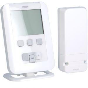 Θερμοστάτης Ψηφιακός Ασύρματος Ψύξη/Θέρμανση Μπαταρίας