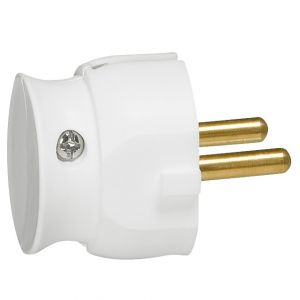 DIY Φις 2Π 16Α Λευκό Επίπεδο Σε Συσκευασία
