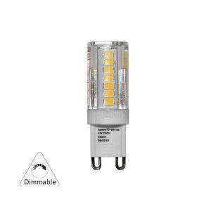 Λάμπα LED SMD Κεραμικό Mάτ G9 4W 230VAC 300' Ντιμαριζόμενο Λευκό