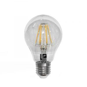 Λάμπα LED COG Αχλάδι Διάφανο Ε27 10W 230V Λευκό