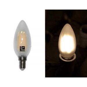 Λάμπα LED COG Κεράκι Μάτ Ε14 6W 230V Θερμό
