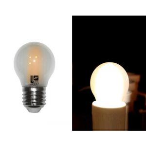 Λάμπα LED COG Σφαιρική Μάτ Ε27 6W 230V Θερμή