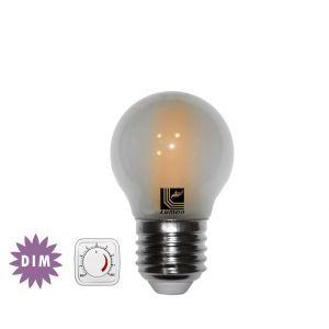 Λάμπα LED COG Σφαιριή Μάτ Ε27 6W 230V Ντιμαριζόμενη Θερμή