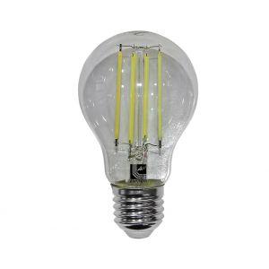 LED COG Αχλάδι Διάφανο Ε27 6W 230V Ψυχρό