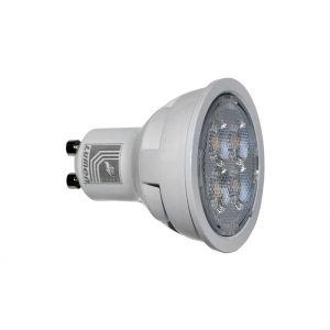LED GU10 10W 230V 30° ΨΥΧΡΟ