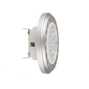 Λάμπα LED SMD Αλουμίνιο AR111 15W Ντιμαριζόμενο 12VAC/DC 24° Λευκό