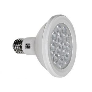 Λάμπα LED SMD PAR30 E27 12W 230V 38° Ντιμαριζόμενο Λευκό