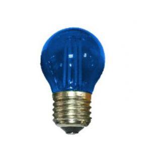 E27 BLUE GLASS BALL 4W 230V AC 390LM LED COG