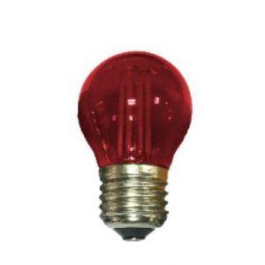 E27 RED GLASS BALL 4W 230V AC 390LM LED COG