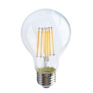 LED FILAMENT E27 A60 8W 6500K 230V AC 915LM RA80