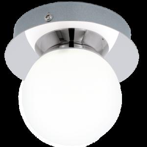 Απλίκα Μονόφωτη Τοίχου /Οροφής  Χρωμέ /Λευκό Mosiano