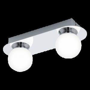 Απλίκα Δίφωτη Τοίχου /Οροφής  Χρωμέ /Λευκό Mosiano