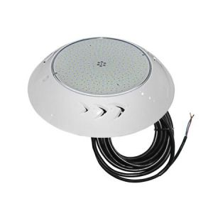 Φωτιστικό Πισίνας LED Με Λάμπα Ρητίνης 30W 12V IP68 9000K Πλαστικό Λευκό
