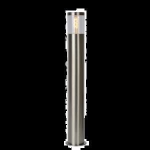 FEDOR BOLLARD LIGHT E27 / 40W H79.5CM SATIN CHROME