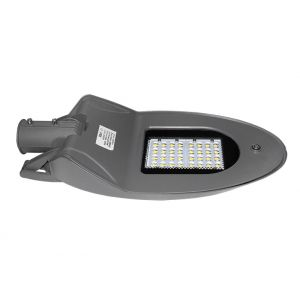 LED Φωτιστικό Δρόμου SMD 50W 4200K Γκρί IP66