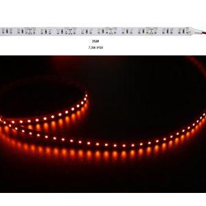Ταινία LED 24VDC 7.2W/m 90LED/m Κόκκινο IP20