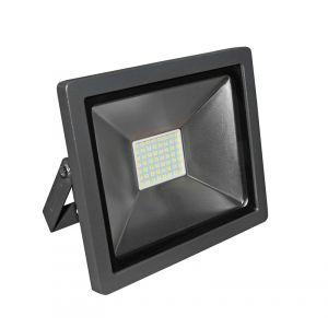 ΠΡΟΒΟΛΕΑΣ LED-SMD MINI 30W 230V 3100K ΘΕΡΜΟ IP65 ΑΝΘΡΑΚΙ