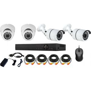 KIT 4-VDT20-SHK60-FH200E KIT DVR ΜΕ 4 ΚΑΜΕΡΕΣ