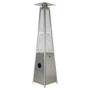 Θερμάστρα Υγραερίου Πύργος 13KW Inox (stainless steel)