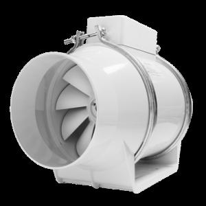 Εξαεριστήρας  DOSPEL TURBO100 Φ100 Λευκός Αεραγωγού (180 m3/h)