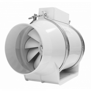 Εξαεριστήρας  DOSPEL TURBO125 Φ125 Λευκός Αεραγωγού  (240 m3/h)