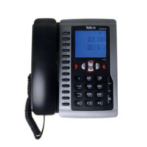 Ενσύρματο τηλέφωνο με αναγνώριση κλήσης στην αναμονή Μαύρο GCE6097W