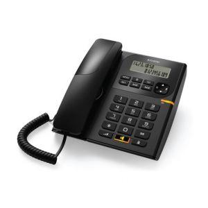 Ενσύρματο τηλέφωνο με αναγνώριση κλήσης Μαύρο T58