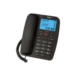 Ενσύρματο τηλέφωνο με αναγνώριση κλήσης Μαύρο GCE6215