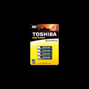 Toshiba High Power AAA (blister 4 pcs)  -  LR03GCP BP-4