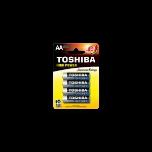 Toshiba High Power AA (blister 4 pcs)  -  LR6GCP BP-4