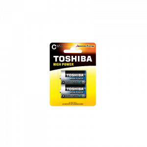 Toshiba High Power C (blister 2 pcs)  -  LR14GCP BP-2