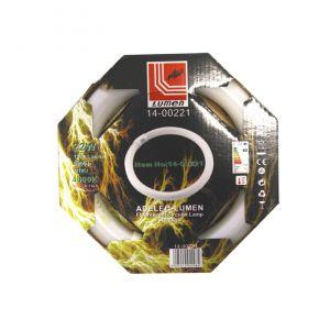 ΛΑΜΠΑ ΦΘΟΡΙΟΥ ΚΥΚΛΙΚΗ Τ-9 22W ΛΕΥΚΟ 4000Κ (840)