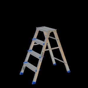 Σκάλακι  Αλουμινίου  3+1 Σκαλοπάτια