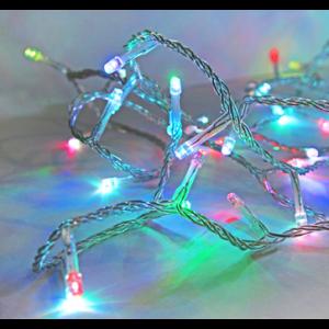 200 ΜΙΝΙ LED ΠΡΟΓΡΑΜΜΑ+ΣΤΑΘΕΡΑ ΔΙΑΦΑΝΟ ΚΑΛΩΔΙΟ RGB IP44