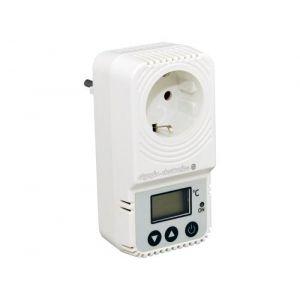 BS-824 Ηλεκτρονικός θερμοστάτης πρίζας με έξοδο 230V 16A