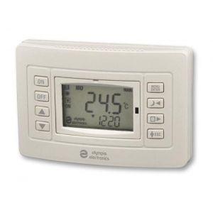BS-818 Ασύρματος Θερμοστάτης με μπαταρία, με έξοδο για καυστήρα
