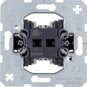 Berker  Μηχανισμός Μπουτόν Για Ρολλά 10A 250V