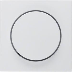 Berker S.1 Πλακίδιο Για Ρυθμιστή Φωτισμού Λευκό