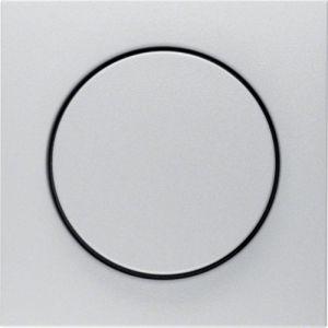 Berker S.1/B.7  Πλακίδιο Για Ρυθμιστή Φωτισμού Αλουμίνιο
