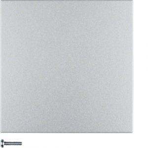 Berker S.1/B.7  Πλακίδιο Για Ρυθμιστή Φωτισμού Αλουμίνιο Ματ