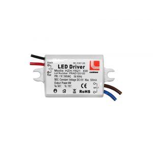 ΤΡΟΦΟΔΟΤΙΚΟ ΓΙΑ LED ΠΛΑΣΤΙΚΟ 220-240V/12VDC 6W
