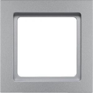 Berker Q3 Πλαίσιο 1 Θέσης Αλουμίνιο