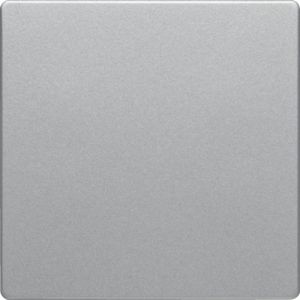 Berker Q1/Q3 Πλακίδιο Για Ρυθμιστή Φωτισμού 25-400w Πατητό Αλουμίνιο