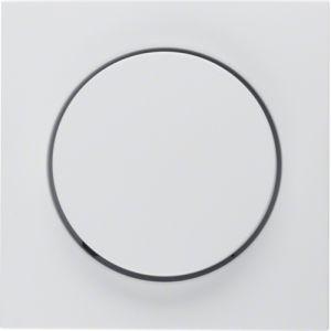 Berker S.1/B.3/B.7  Πλακίδιο Για Ρυθμιστή Φωτισμού Λευκό Ματ